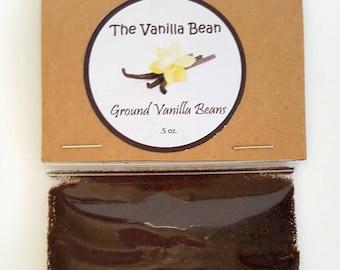 Premium Ground Madagascar Vanilla Beans