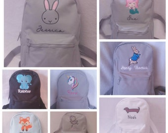Personalized childrens backpacks  1edf63cf1ad40
