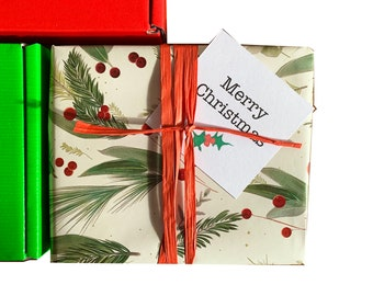 XMAS Gift wrap SERVICE. Direct to recipient.