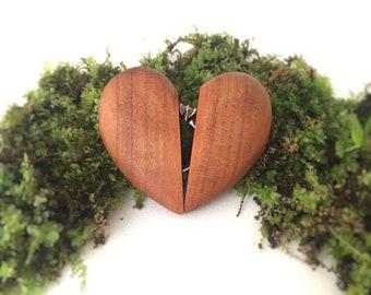 Engagement Ring Box, Velvet Ring Box, Wedding Ring Box, Bridesmaid Gift Box, Wooden Jewelry Box, Ring Bearer Box, Engagement, Ring Holder