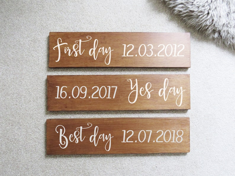 Custom Decal Sticker First Day Yes Day Best Day Quote for image 0