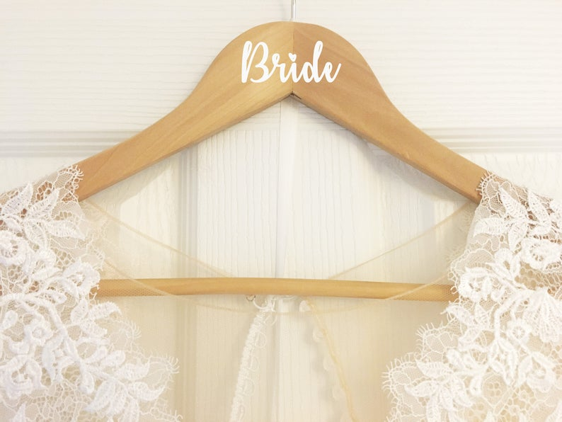 Single Name Bride Bridesmaid or Custom Name Decal Sticker for image 0