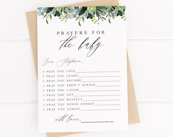 picture relating to Printable Baptism Cards called Baptism card Etsy