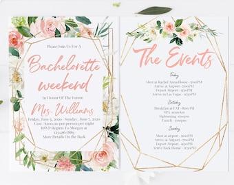 peach invitations etsy