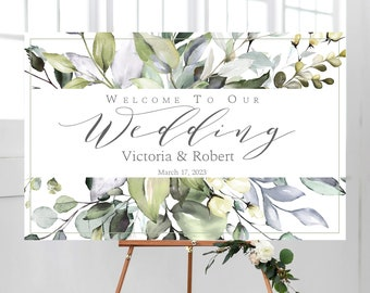 Welcome Wedding Sign Etsy