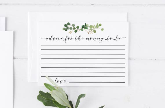 picture relating to Printable Note Card Templates known as Information For the Mommy In direction of Be Printable Observe Card Template Kid Shower Playing cards Child Shower Invitation Template Little one Shower Recreation Greenery