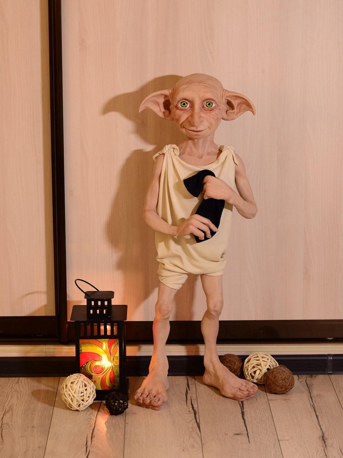 Dobby elf. Polymer clay handmade doll. image 6
