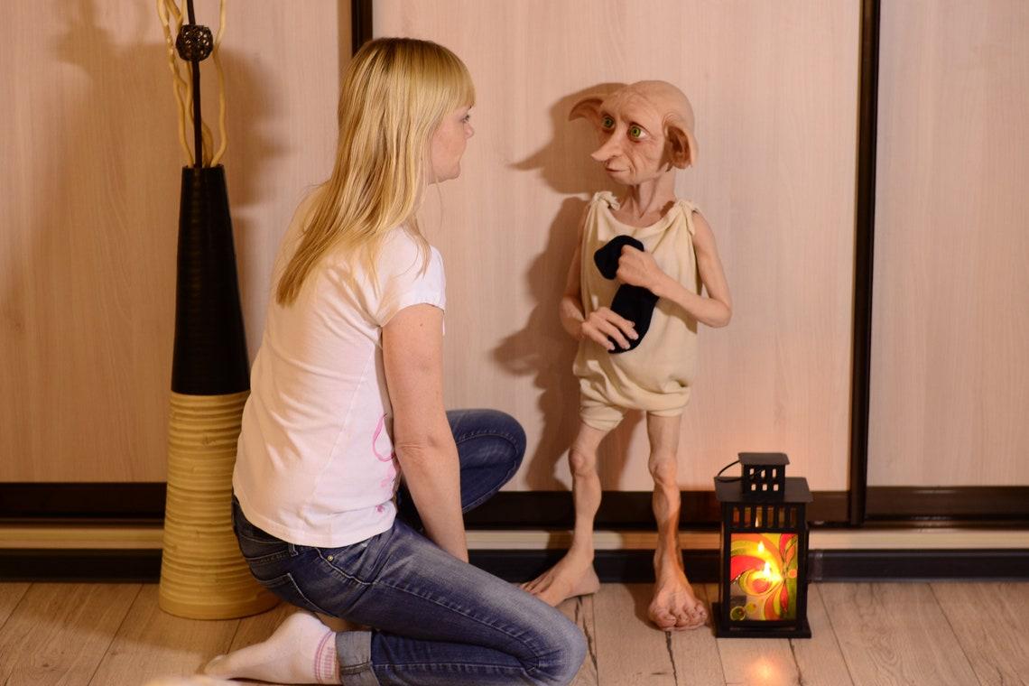 Dobby elf. Polymer clay handmade doll. image 8