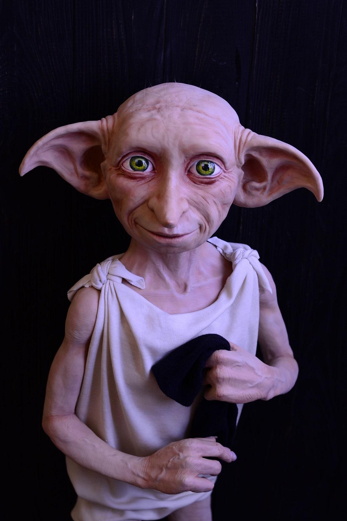 Dobby elf. Polymer clay handmade doll. image 1
