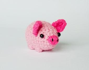 Mini Pig Crochet Amigurumi Pattern | 270x340