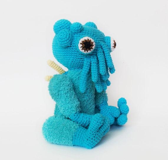 The Cthulhu Amigurumi Crochet Pattern Amigurumi Pattern Etsy