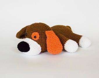 Amigurumi crochet pattern dog / crocheted dog / amigurumi crochet animals / dog / soft toy dog / crochet dog / easy crochet pattern /