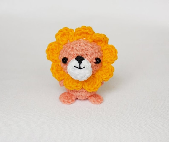 Tiny lion amigurumi pattern - printable PDF – Amigurumi Today Shop | 477x570
