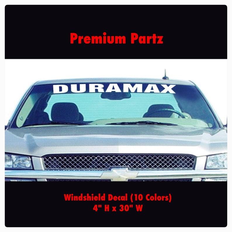 No Money decal vinyl car sticker diesel windshield banner ford duramax 1500