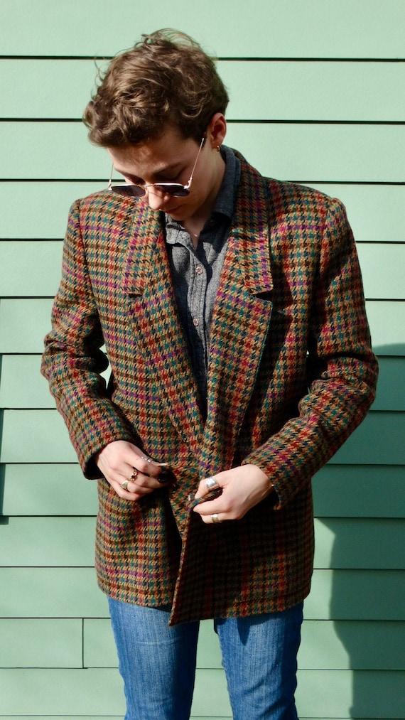 Vintage Blazer  Wool  size small  Tag Bailo