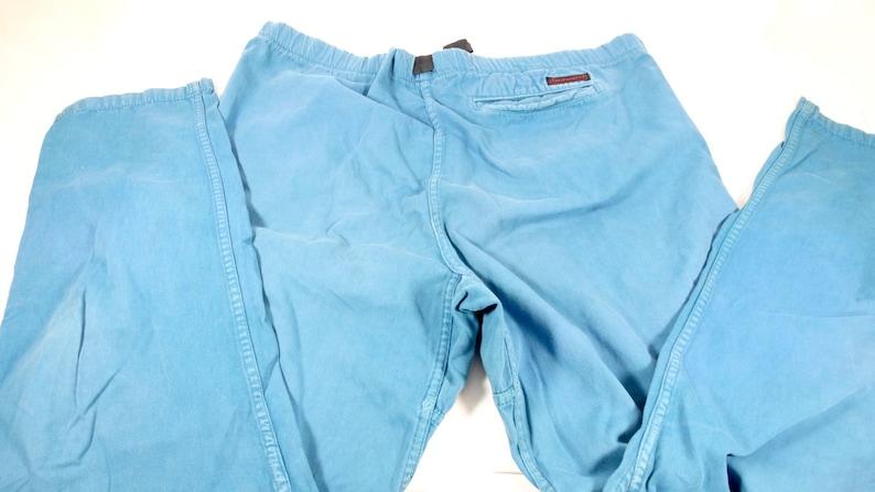 3ebd06d8d0dec 90s Teal Gramicci Pants Womens Size L Rock Climber Hiking Trail Outdoor Gear