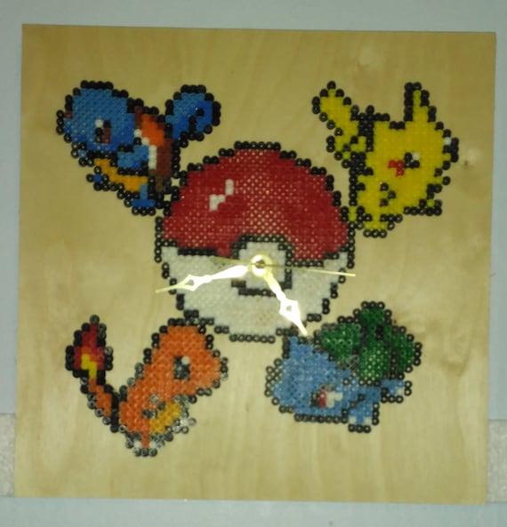 Perler Bead Pokemon Clock #2