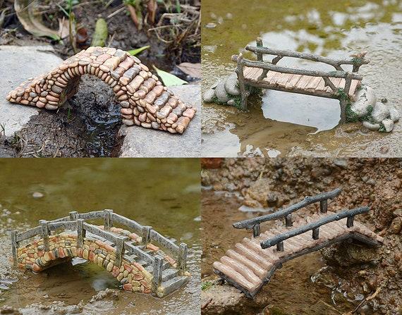 Miniature  Micro Suspension Bridge GO 17428  Fairy Garden  Terrarium