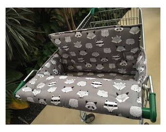 Trolley cover / trolley liner // shopping trolley cover / shopping cart cover / shopping cart liner / double / single / twin