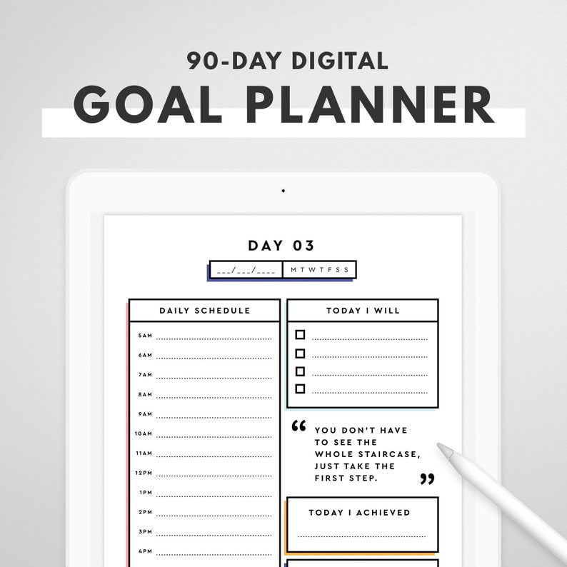 Digital Goal Planner: Track Your Goal and Develop Healthy image 0