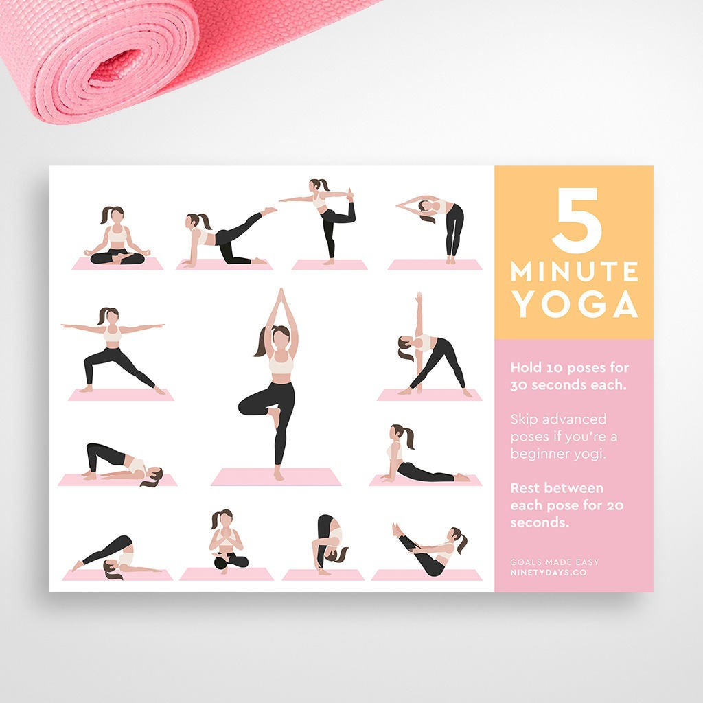 photo about Printable Yoga Routine named Printable Yoga Plan Exercise Conditioning Aims, Excess weight Decline, Exercise Planner, Conditioning, Bodyweight Function, Health Planner