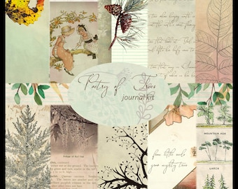 Poetry of Trees PRINTED Journal Kit