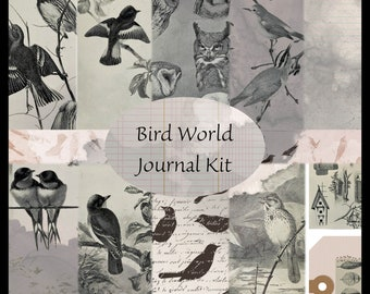Bird World PRINTED Journal Kit