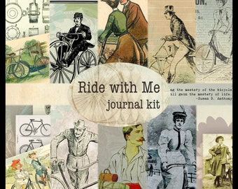 Ride with Me DIGITAL Journal Kit
