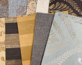 Patterns & Textures Wallpaper Set of 11 -JH