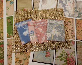 Vintage Wallpaper Mega Ephemera Pack - 99 Pieces