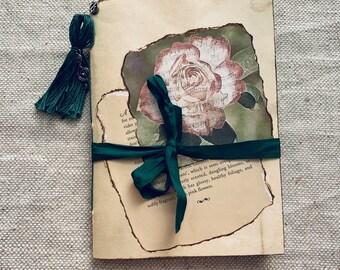 Music Rose Mini Junk Journal