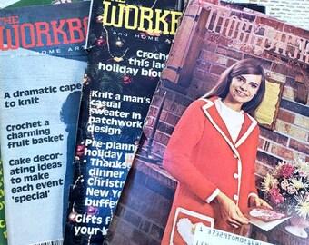 The Work Basket Vintage Magazines 1960-1970s