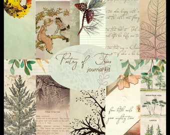 Poetry of Trees DIGITAL Journal Kit