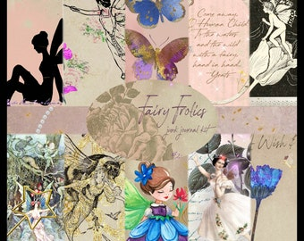 Fairy Frolics PRINTED Journal Kit