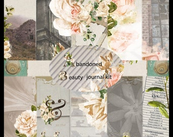 Abandoned Beauty *PRINTED* Junk Journal Kit