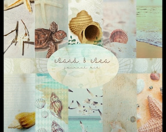 Sand & Sea DIGITAL Journal Kit