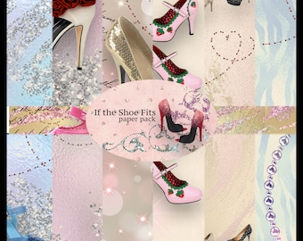 If the Shoe Fits DIGITAL Paper Pack