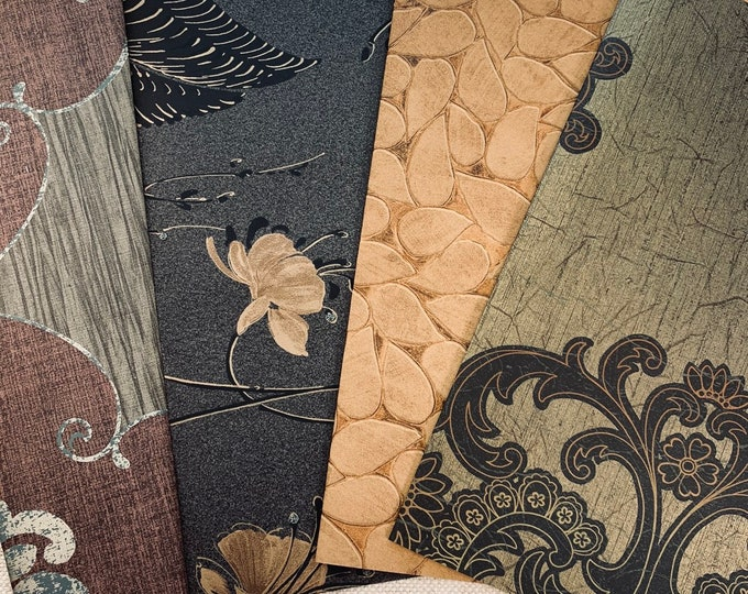 Featured listing image: Dark Beauty Wallpaper Set of 4 - LZ