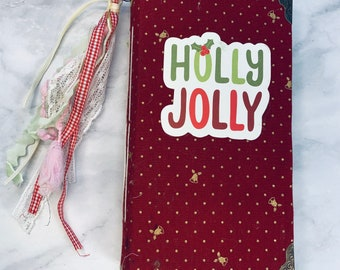 Holly Jolly Junk Journal by Sophie from China