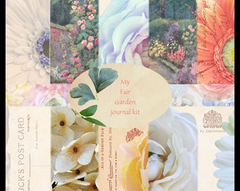 My Fair Garden DIGITAL Junk Journal Kit
