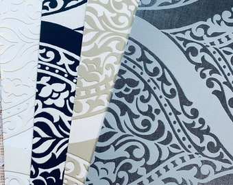 Classic Flourishes Wallpaper Collection 4 pieces