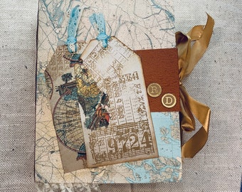 My Journey Junk Journal by Claire Hulott (UK)