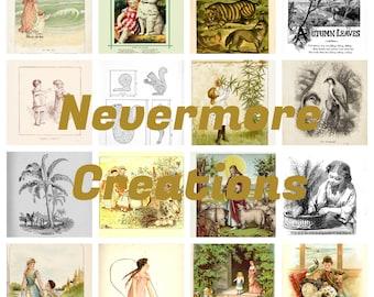 Tell Me a Story Ephemera Pack 45 Images