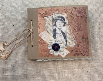 Album Junk Journal by Claire Hulott (UK)