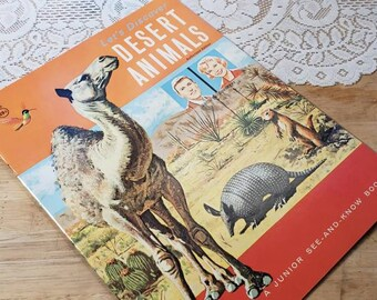 Let's Discover Desert Animals Children's  Science Booklet