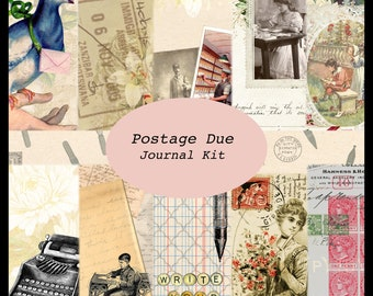 Postage Due DIGITAL Journal Kit