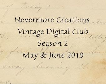 Vintage Digital Club Subscription MAY JUNE