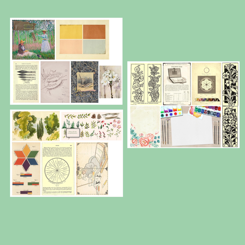 Strokes of Nature DIGITAL Junk Journal Kit