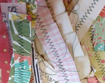 Basic Sewn Paper Ribbons