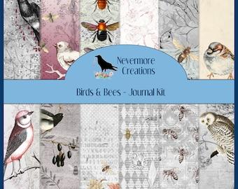 Birds & Bees DIGITAL Journal Kit